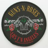 Guns N'Roses - 'Los F'N Angeles' Woven Patch